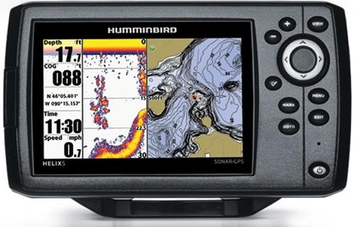 Echosondeur HELIX 5 GPS de chez Humminbird