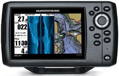 Echosondeur HELIX 5 SI GPS de chez Humminbird